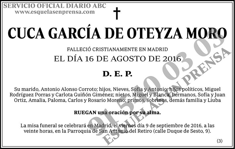 Cuca García de Oteyza Moro